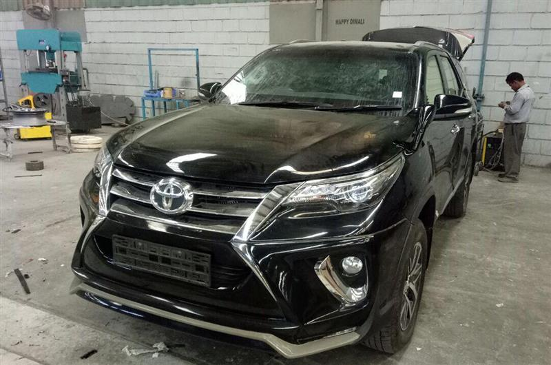 toyota fortuner bulletproof india