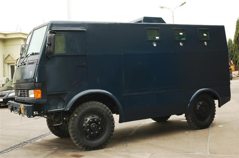 tata armoured personnel carrier in India