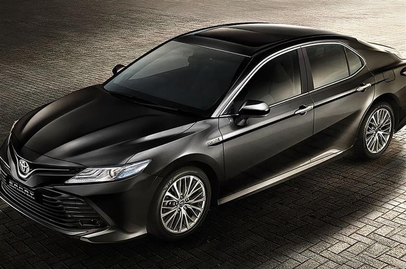 armoured toyota camry in India
