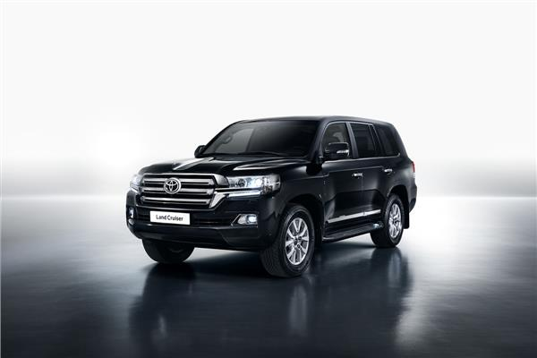 Armoured Toyota Land Cruiser 200