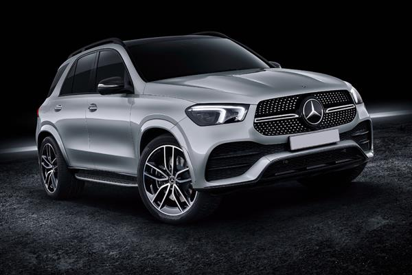 Armoured Mercedes-Benz GLE 350 d